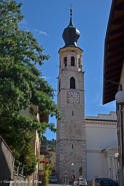 Fondo, San Martino, campanile