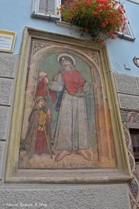 Fondo, affresco di San Giacomo