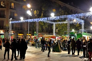 mercatini di Natale, Barcellona, Santa Lucia