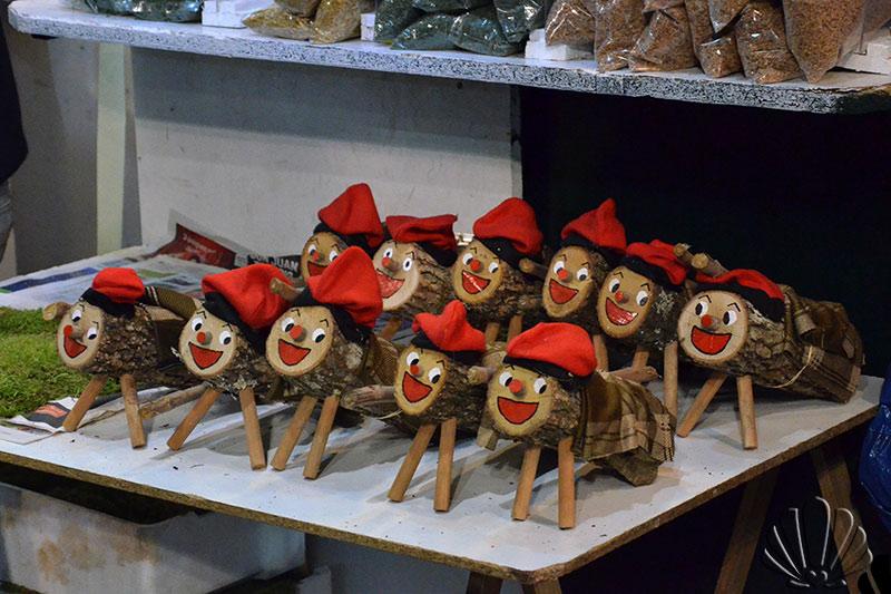 Mercatini di Natale, Barcellona: il simpaticissmo cagatio'