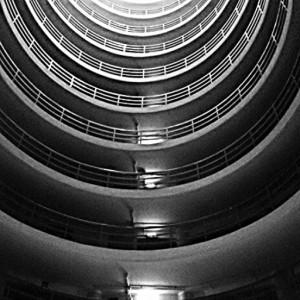 Torre Fiat-la rampa elicoidale, particolare, Ph. Enrico Giuliani