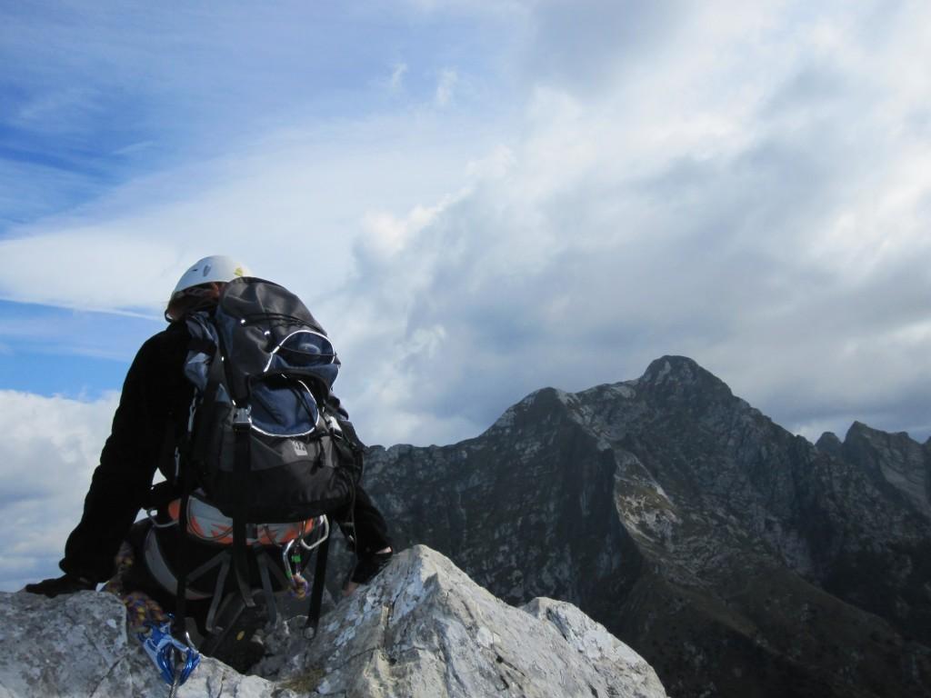 Alpi Apuane,Toscana: ferrata Siggioli