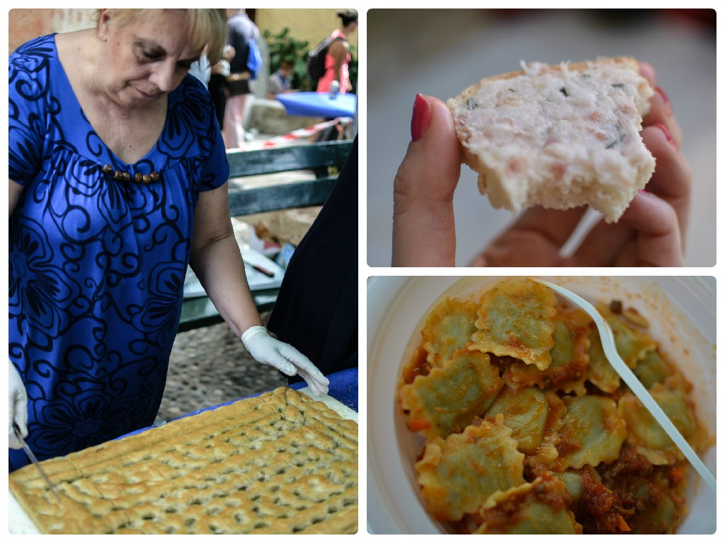 Mangialonga 2015, Levanto: frammenti culinari