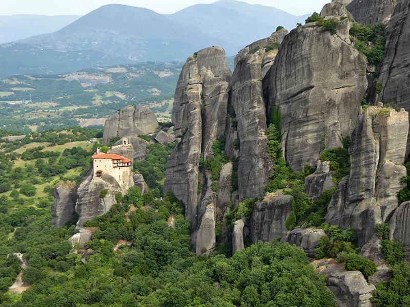 Sospese nel cielo: Grecia, Meteore