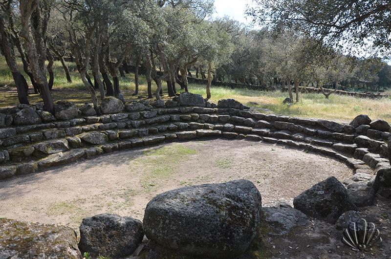 Bitti, Su Romanzesu: tempio gradonato