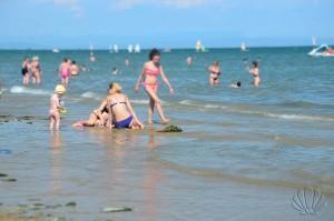 Lignano Sabbiadoro, giochi in spiaggia