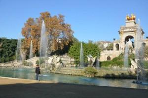 Barcellona, il parco della Ciutadella