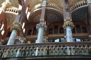 Palau de la musica Catalana, esterno. Barcellona