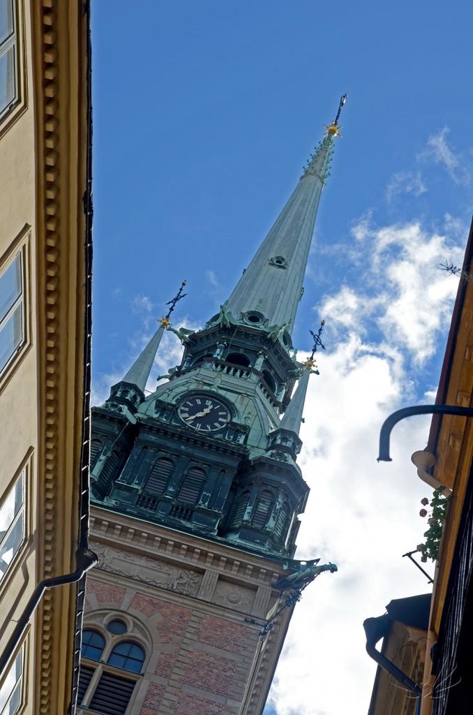 Gamla stan, Stoccolma: frammenti di cielo