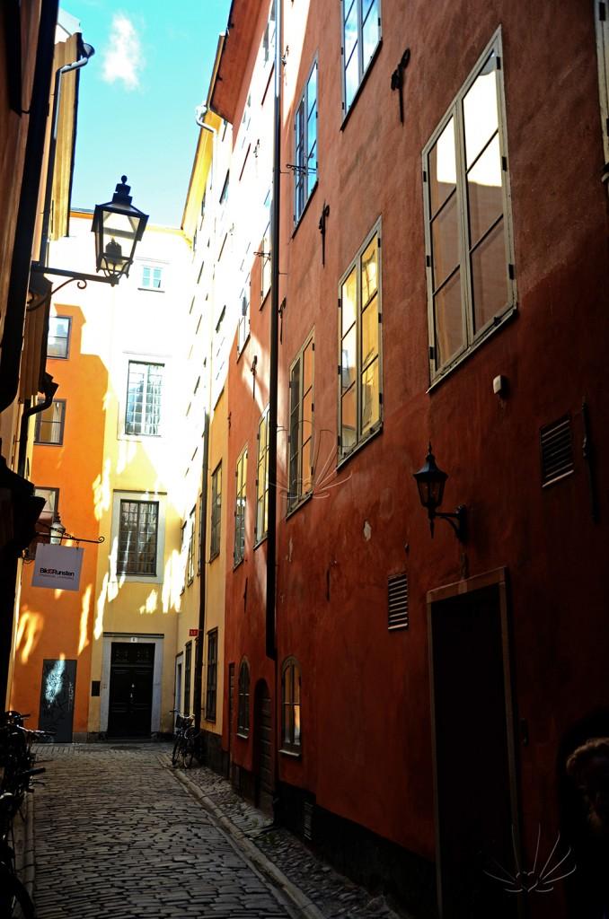Stoccolma, Gamla stan. Scorcio