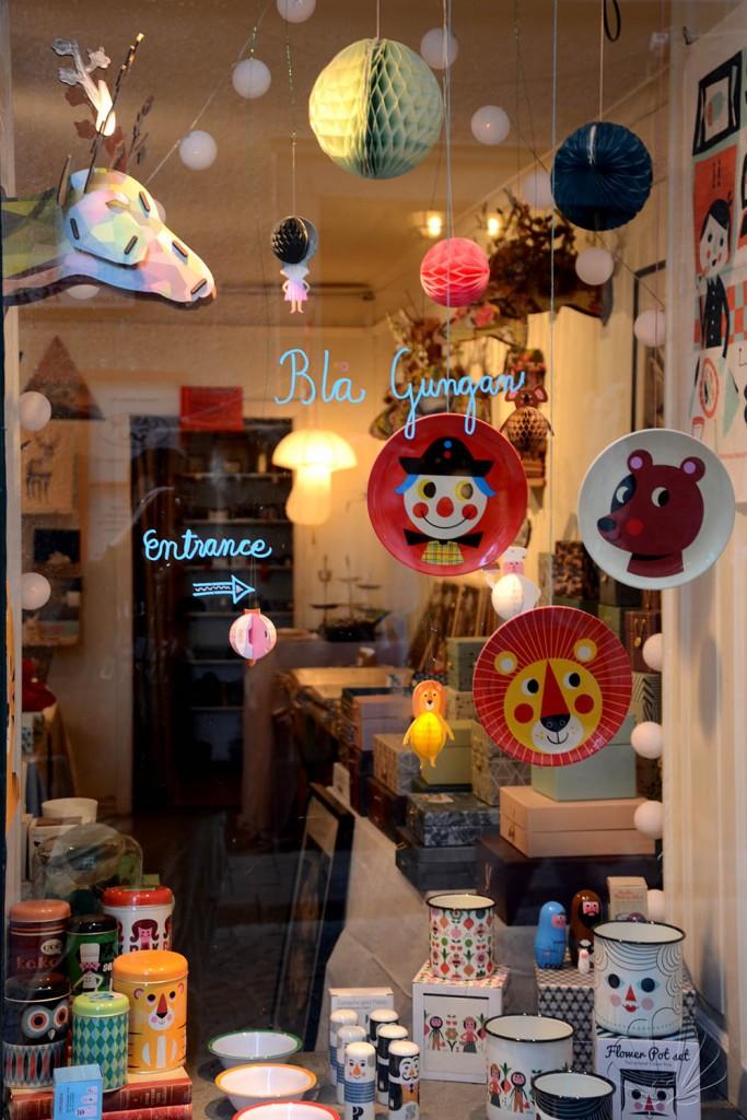Blå Gungan, negozio di giocattoli e altri oggetti divertenti di Gamla Stan, Stoccolma