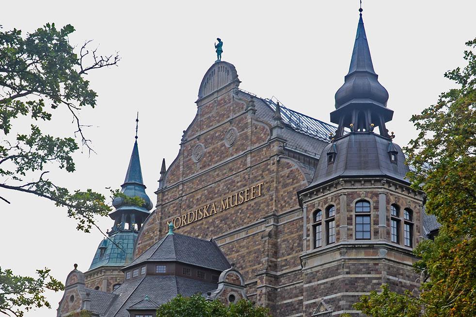 le guglie del Nordiska Museet: una bella visuale di cui si gode con una camminata a Djurgården, Stoccolma
