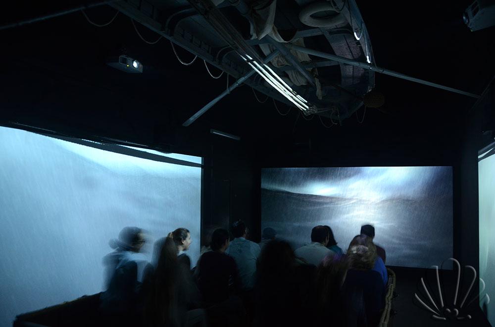 in balia della tempesta! Al Galata, Museo del Mare di Genova