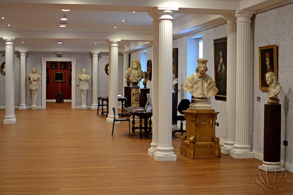 Labirinto della Masone, collezione Franco Maria Ricci: busti e ritratti del Barocco