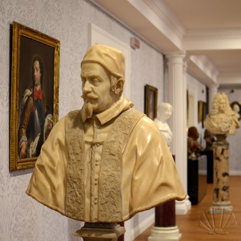 Gian Lorenzo Bernini, ritratto di Clemente X. Collezione Franco Maria Ricci, Labirinto della Masone
