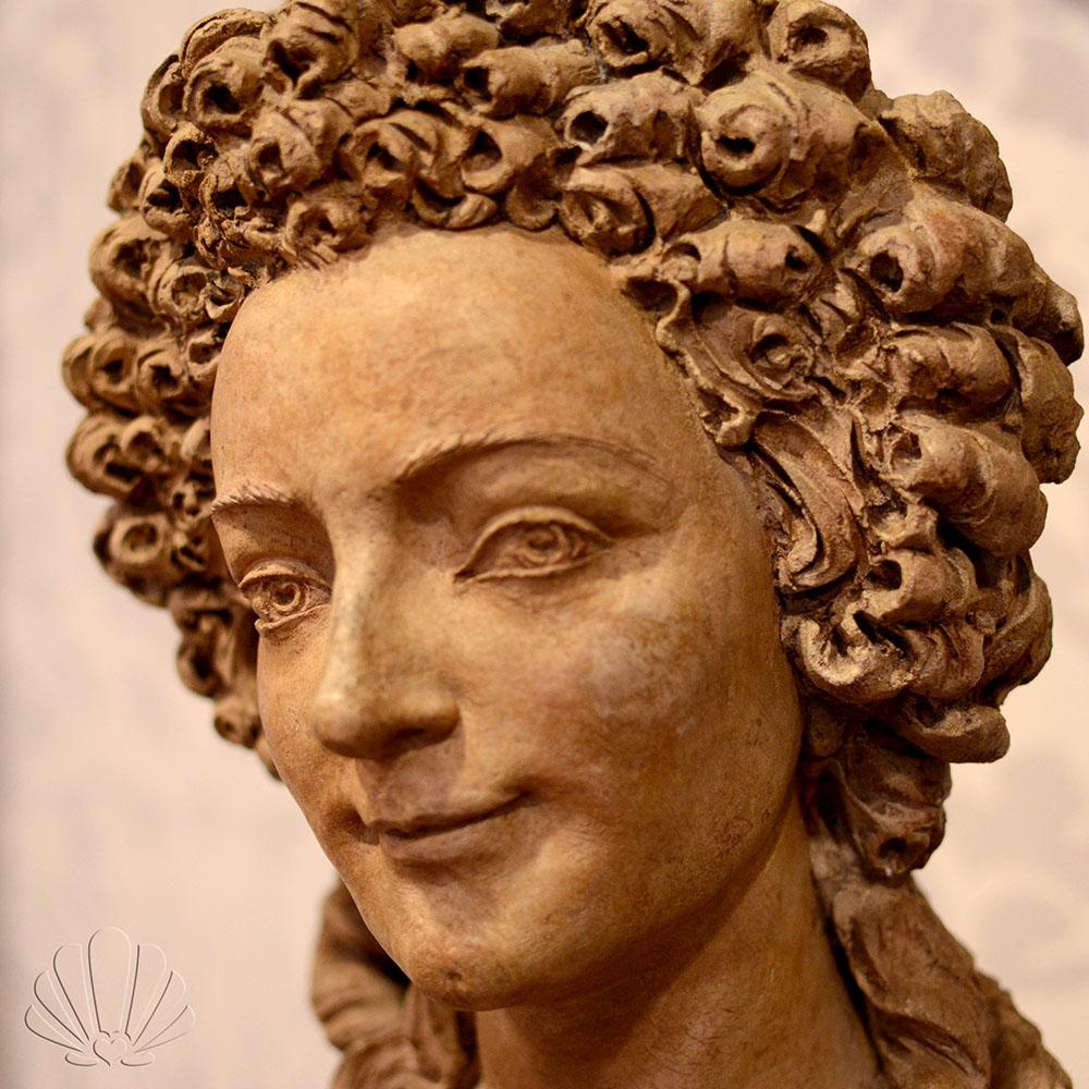 Giovane donna, Marie Anne Collot. Labirinto della Masone