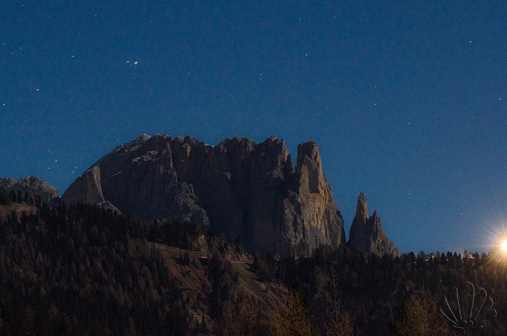 Val di Fassa, le stelle si accendono