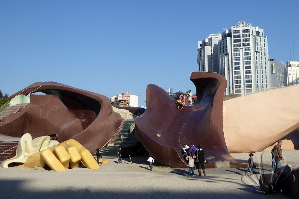 Valencia, il Gulliver gigante