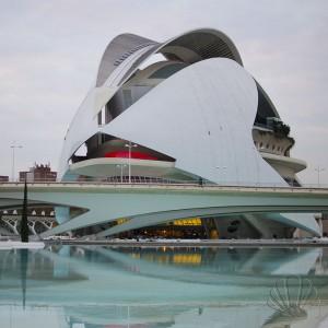 Palau Reina Sofia, Città delle arti e delle Scienze, Valencia