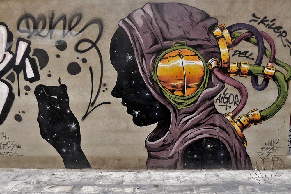 La Valencia underground: la street-art del Carmen