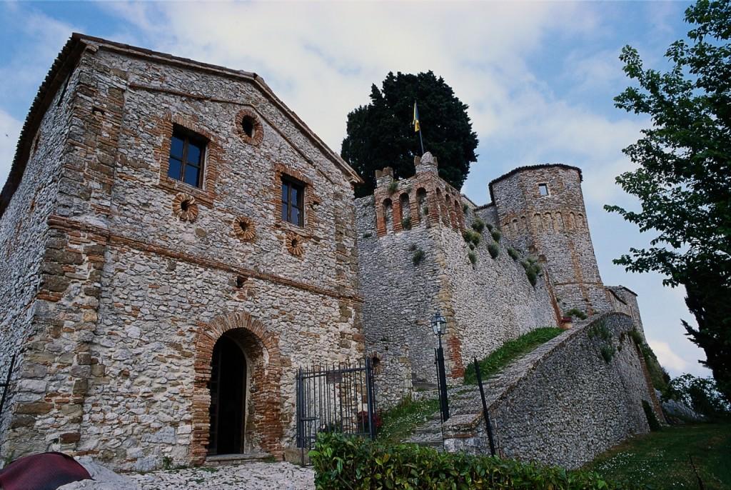 Rocca dei Guidi di Bagni