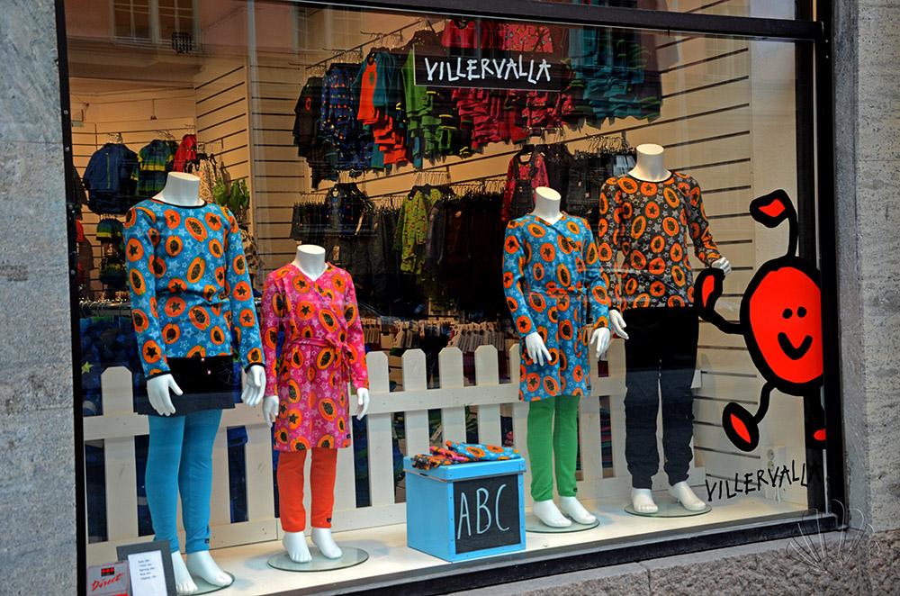 La vetrina della Villervalla a Sodermalm