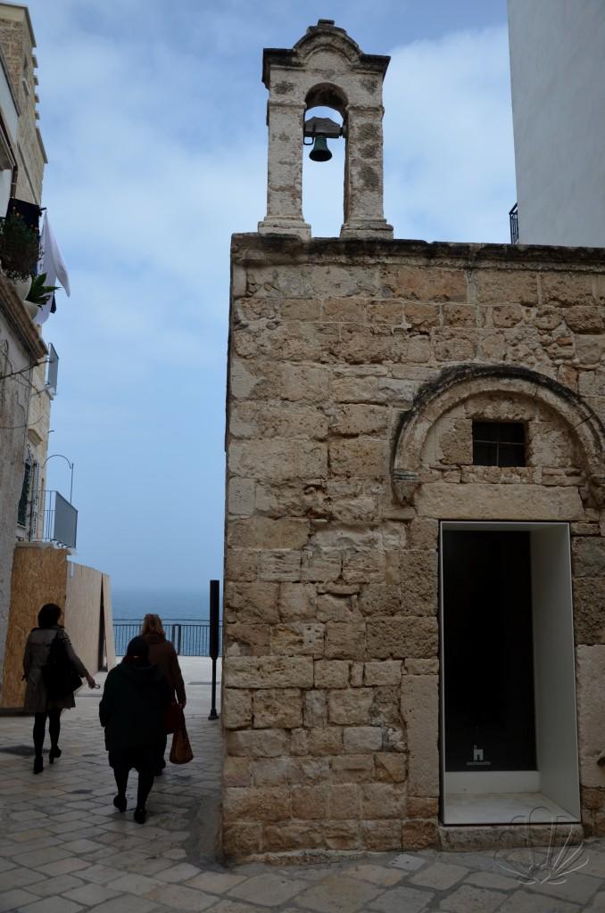 L'ex chiesetta di Santo Stefano a Polignano a Mare che dà il nome al B&B