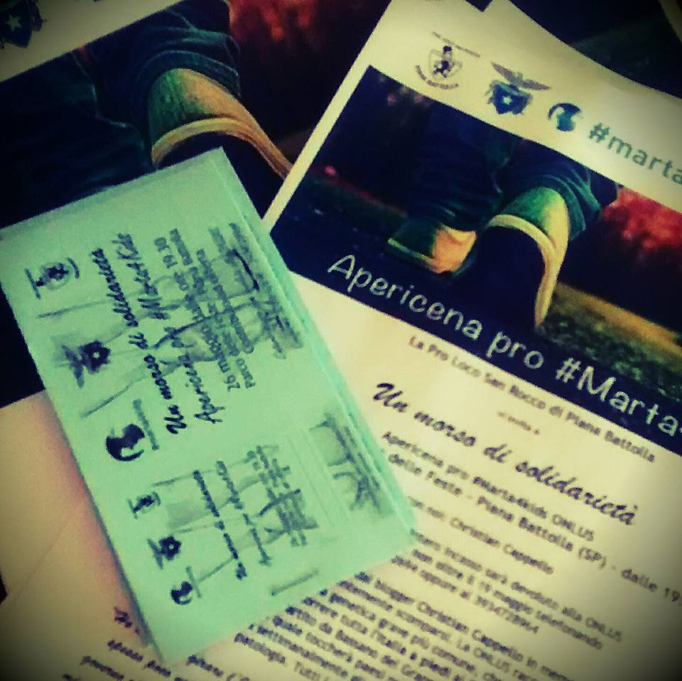 Locandine e biglietti per l'evento