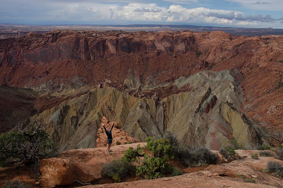 Canyonlands: dentro l'Uphevel Dome