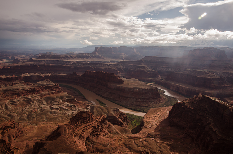 Dead Horse Point: una spettacolare veduta sul fiume colorado