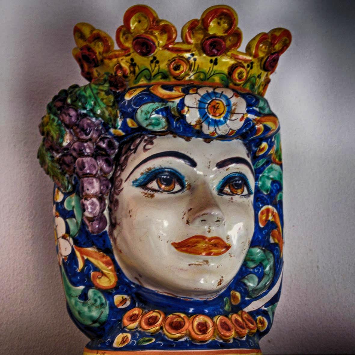 Di Mori, vasi e ceramiche: il tesoro barocco di Caltagirone