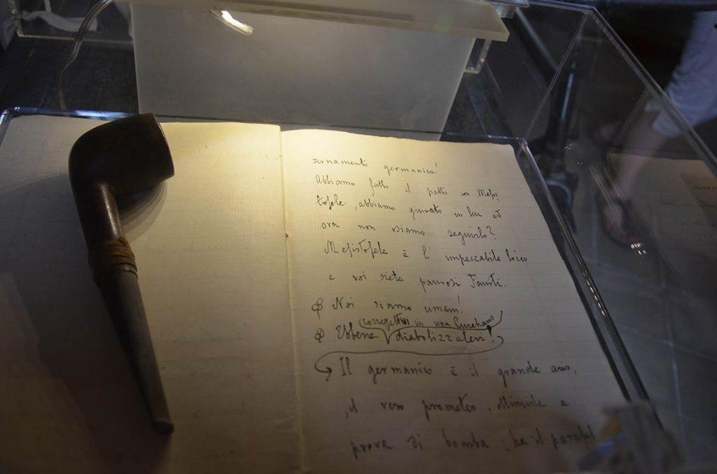I quaderni autografi di Alfredo Panzini