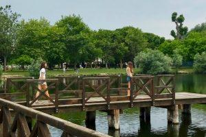 Uno degli angolo più belli di Igea: il Parco del Gelso