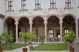 Castello di Buonconsiglio, Trento: l'ala rinascimentale