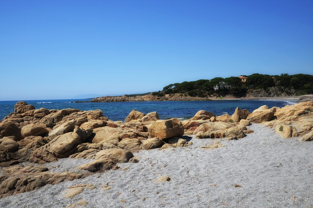 Cala Liberotto, la spiaggia principale