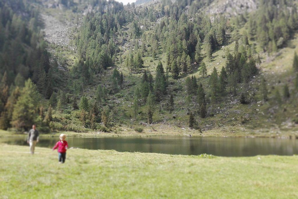 Finalmente si corre! Lago Nambino