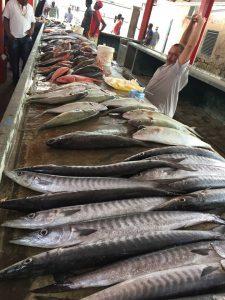 Mercato del pesce a Victoria, Mahé