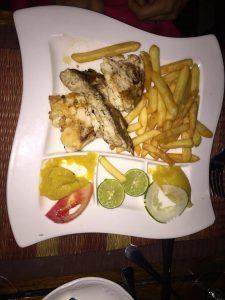 Main course al ristorante