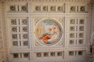Decorazione del soffitto: complesso termale del Tettuccio