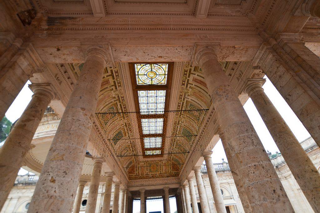 L'imponente colonnato del Tettuccio, Montecatini Terme