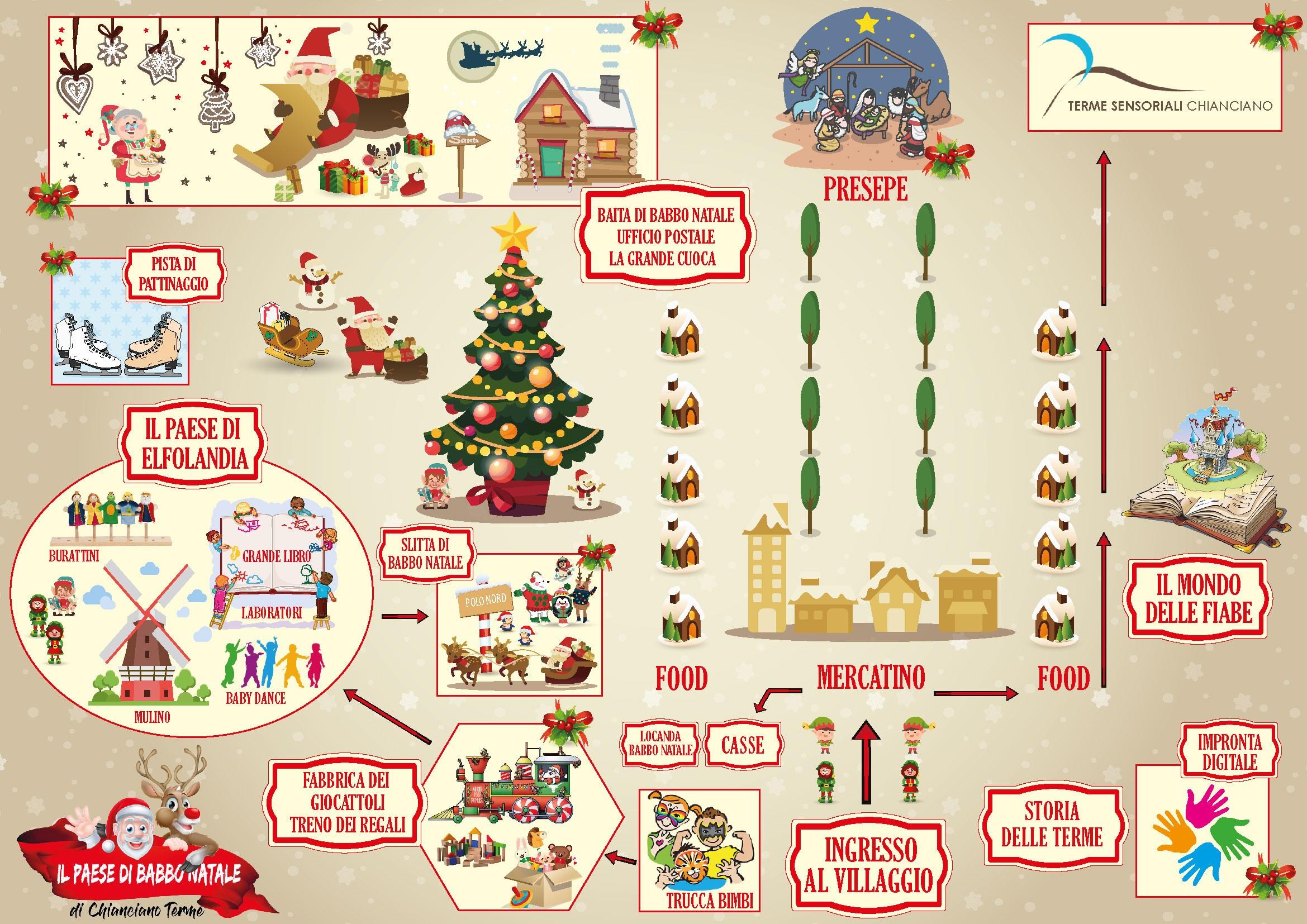 Paese Natale Di Babbo Natale.Il Paese Di Babbo Natale Di Chianciano Terme
