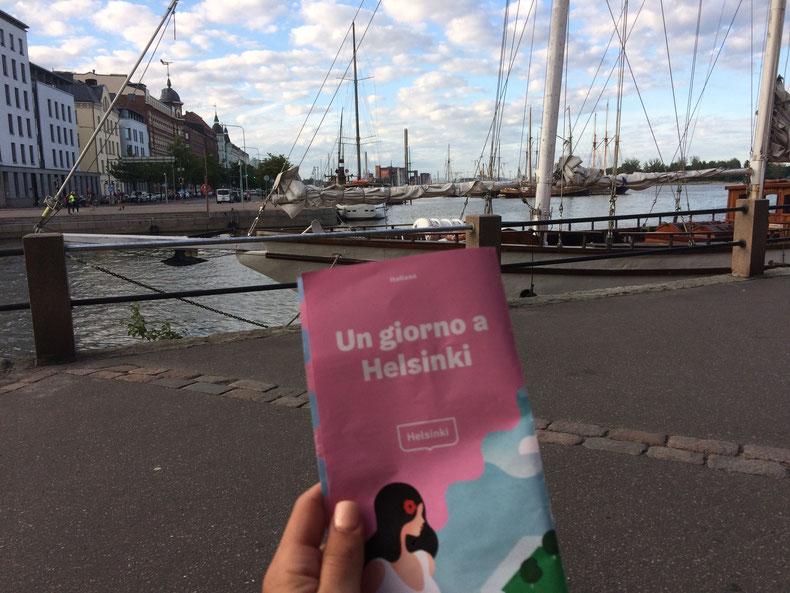 Un giorno a Helsinki….con la valigia arancione!