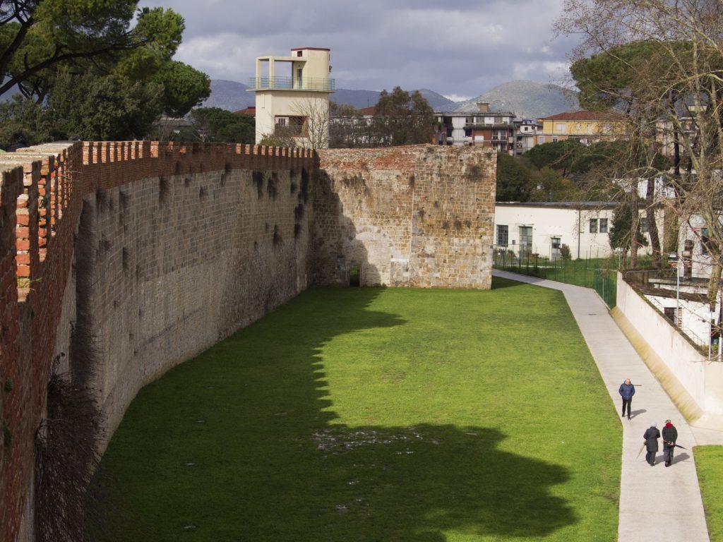 le mura di pisa