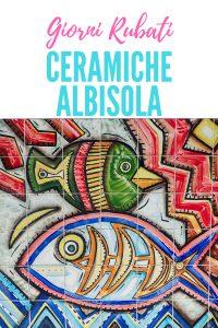 Giorni Rubati-tour ceramico nelle Albisole