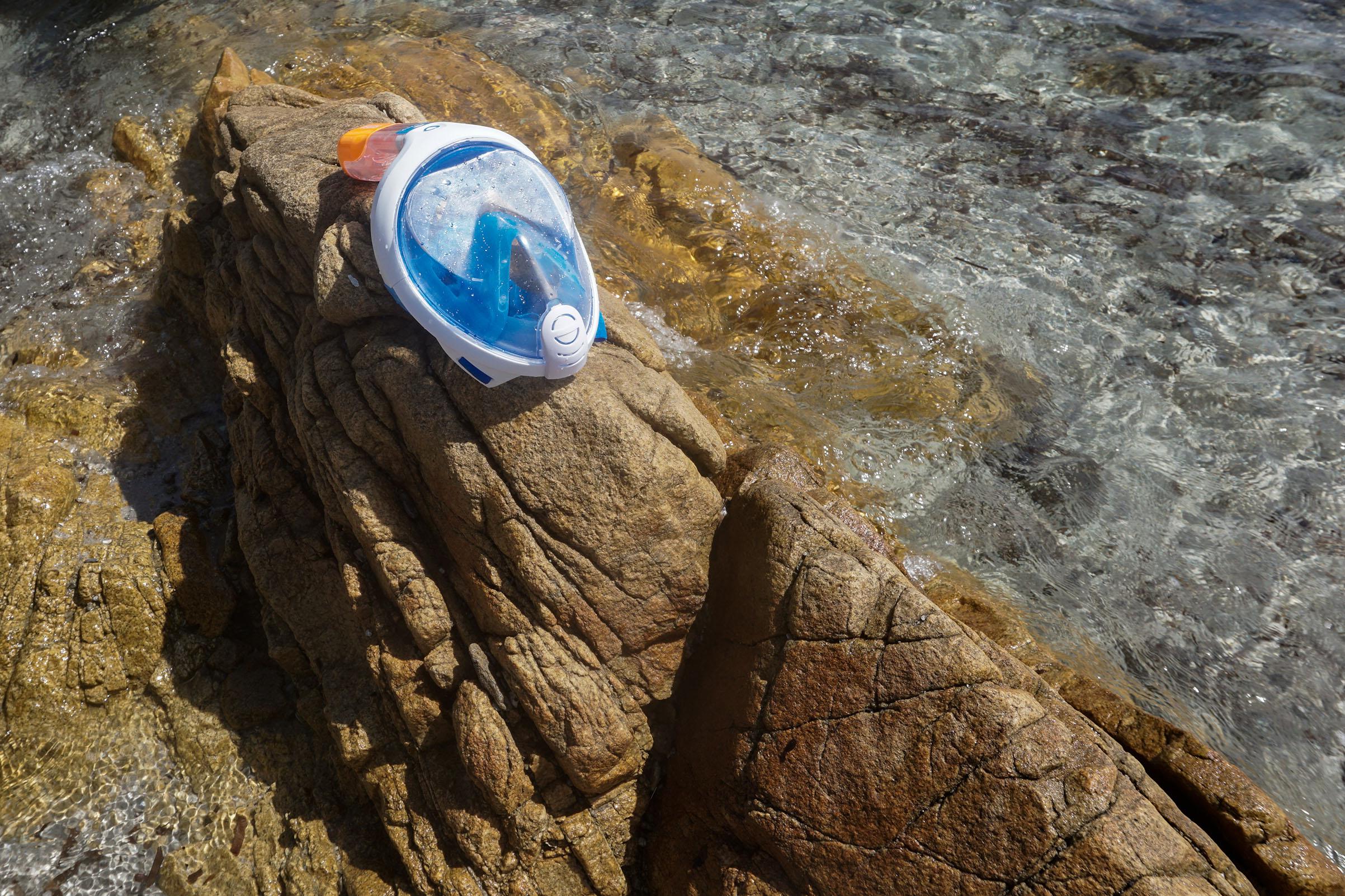 Respirare sott'acqua,la maschera Easybreath