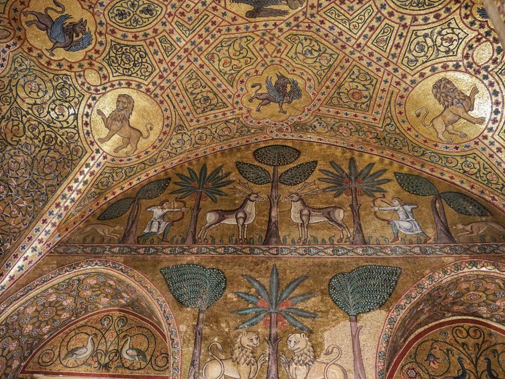 Che cosa vedere a Palermo in due giorni-sala-Ruggero-II