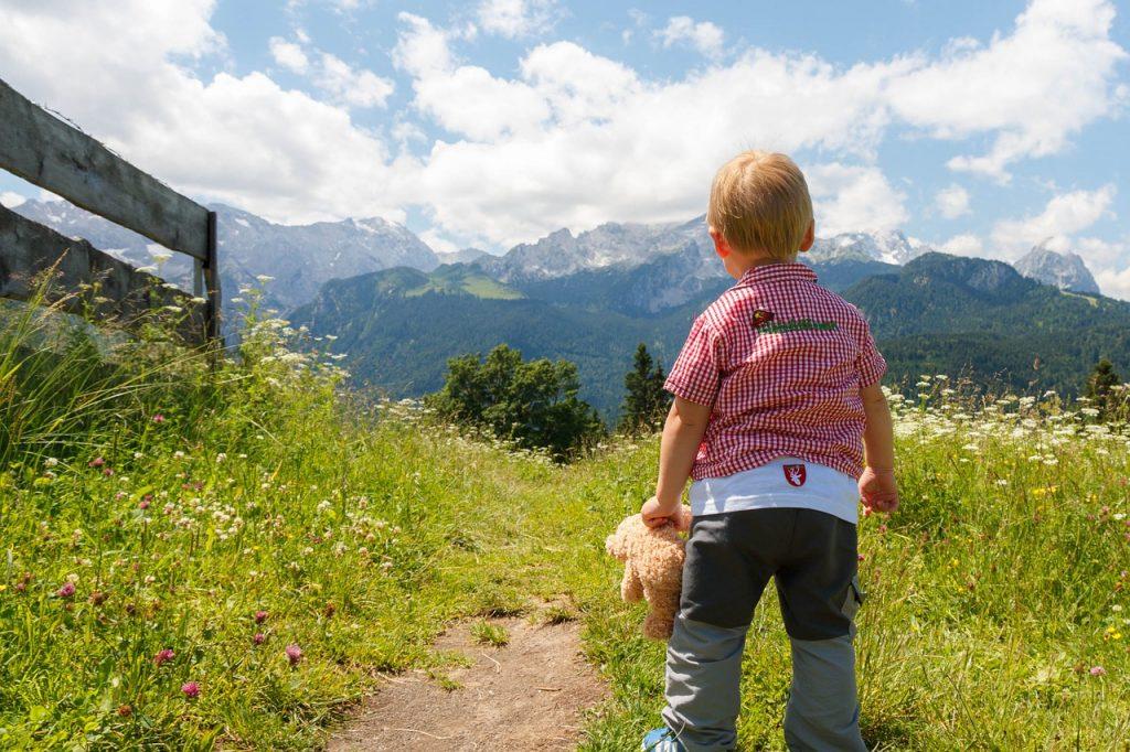 consigli trekking bambini