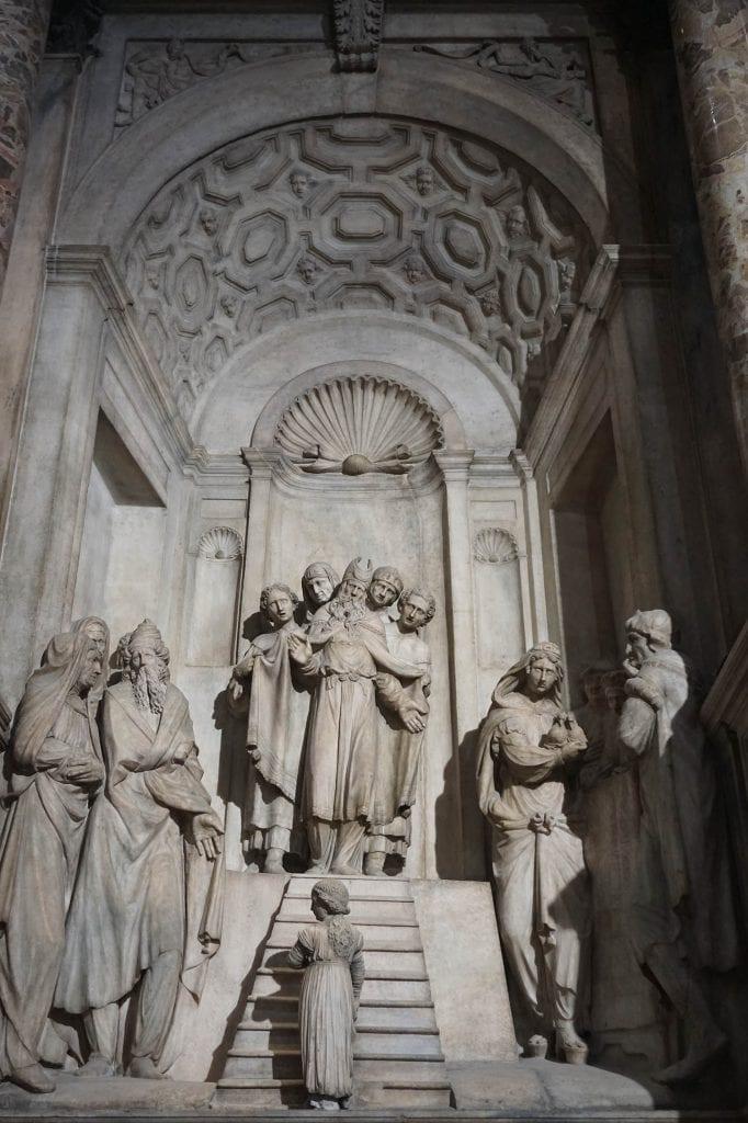 Duomo di Milano presentazione della Vergine al tempio