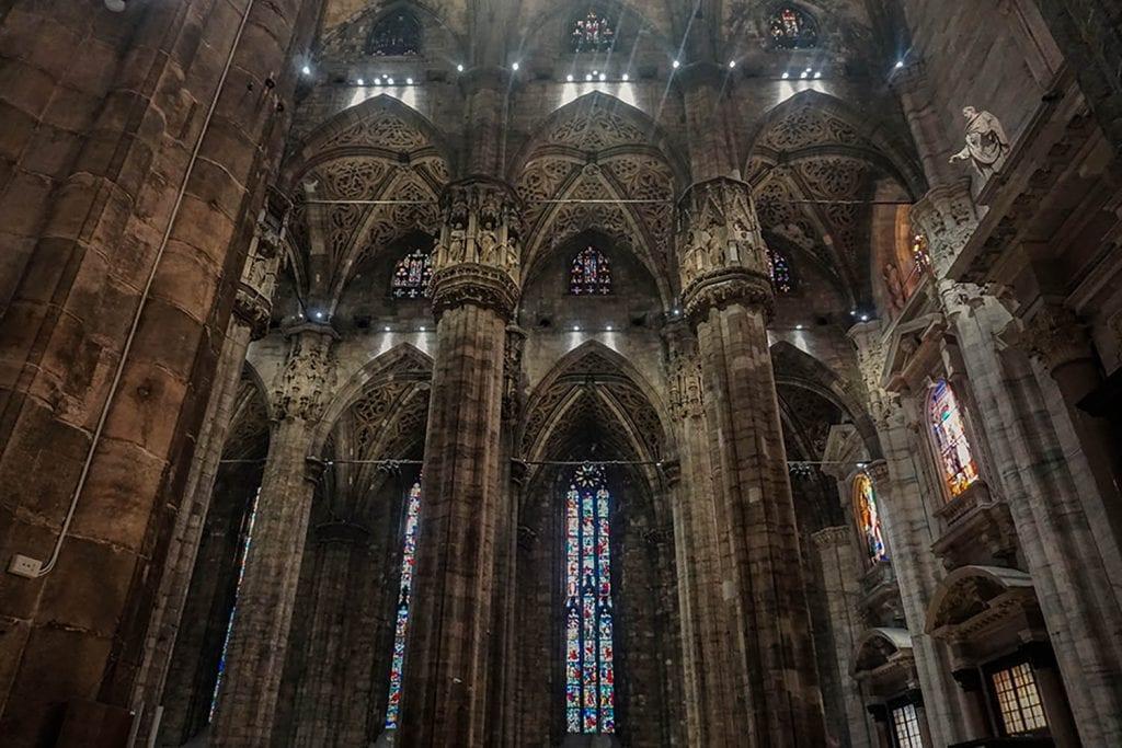 Duomo di Milano vetrate