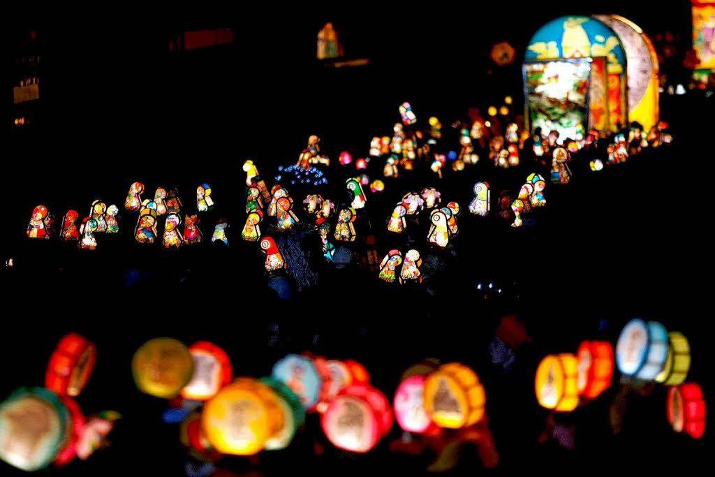 le lanterne del morgenstreich carnevale in Svizzera